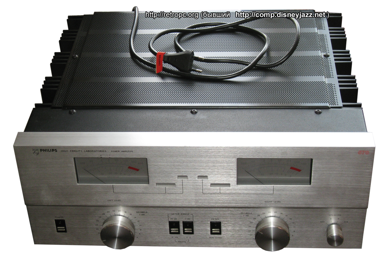 Philips Laboratories AH 578 (мощник)