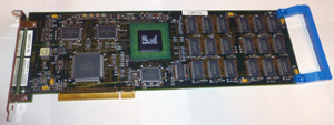 Процессорная плата S/390 Processor Card (made in Korea) вид сверху